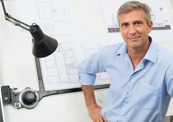 Portrait Of Confident Architect